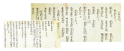 延喜式巻十四(部分)・神名帳
